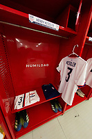 ZAPOPAN, MEXICO - MARCH 21: Jersey of Henry Kessler #3 of the United States before a game between Dominican Republic and USMNT U-23 at Estadio Akron on March 21, 2021 in Zapopan, Mexico.