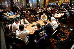 A view of the NAPT Venetian Tournament area at the start of Day 2 ofthe $5K Main Event.