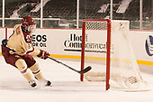 Austin Cangelosi (BC - 9) - The Boston College Eagles defeated the Providence College Friars 3-1 (EN) on Sunday, January 8, 2017, at Fenway Park in Boston, Massachusetts.The Boston College Eagles defeated the Providence College Friars 3-1 (EN) on Sunday, January 8, 2017, at Fenway Park.