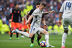 Toni Kroos of Real Madrid in action during their La Liga match between Real Madrid and Valencia CF at the Santiago Bernabeu Stadium on 29 April 2017 in Madrid, Spain. Photo by Diego Gonzalez Souto / Power Sport Images