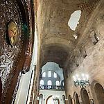 Ceiling, St. Sofia Church, Sofia, Bulgaria