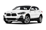 Stock pictures of low aggressive front three quarter view of a 2019 BMW X2 Standard 5 Door SUV