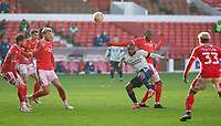 9th January 2021; City Ground, Nottinghamshire, Midlands, England; English FA Cup Football, Nottingham Forest versus Cardiff City; Junior Hoilett of Cardiff City takes a late shot at goal