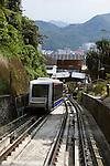 Malaysia, Pulau Penang, Georgetown: Penang Hill funicular railway | Malaysia, Pulau Penang, Georgetown: die Penang Hill Standseilbahn