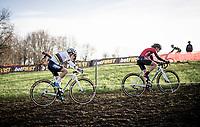 CX World Champion Sanne Cant (BEL/Iko-Crelan) & Alice Maria Arzuffi (ITA/777)<br /> <br /> 82nd Druivencross Overijse 2019 (BEL)<br />  <br /> ©kramon