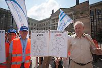 2014/07/11 Berlin | Eisenbahner-Protest vor dem Bundesrat