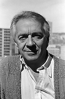 Montreal, CANADA - File Photo -  French actor Jean-Pierre Kassel in 1989.<br /> <br /> Photo : Agence Quebec Presse  - Pierre Roussel