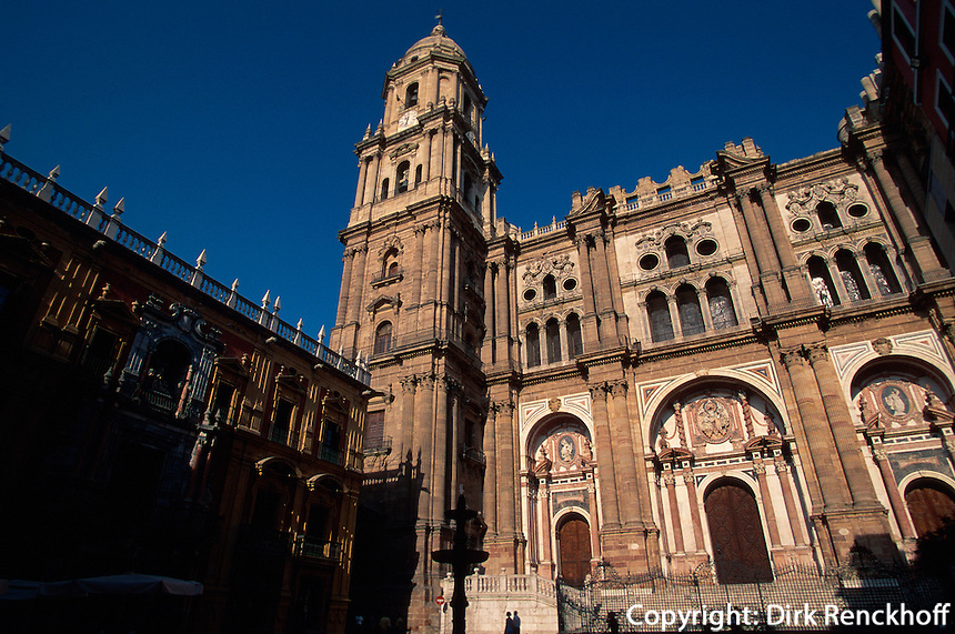 Spanien, Andalusien, Kathedrale in Malaga