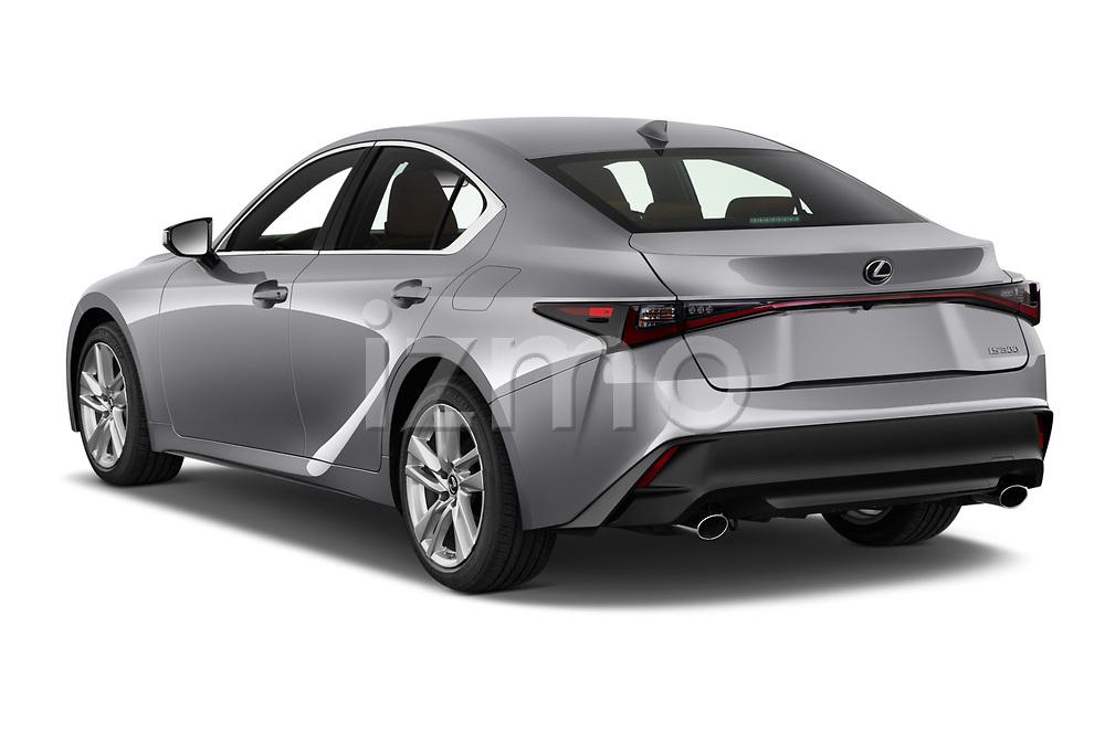 Car pictures of rear three quarter view of 2021 Lexus IS 300 4 Door Sedan Angular Rear