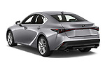 Car pictures of rear three quarter view of 2021 Lexus IS 300 4 Door Sedan Angular Rear
