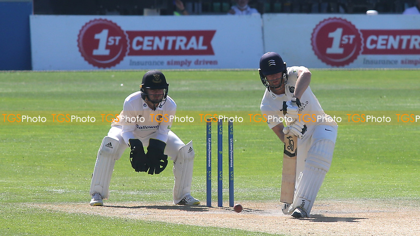 Robbie White of Middlesex in batting action during Sussex CCC vs Middlesex CCC, LV Insurance County Championship Division 3 Cricket at The 1st Central County Ground on 7th September 2021
