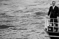 """Nigel Farage MEP (English Politician, Leader of UKIP and Member of the European Parliament).<br /> <br /> """"Flotillas Battle On The Thames - Brexit Vs In EU, Farage Vs Geldof"""".<br /> <br /> London, March-July 2016. Reporting the EU Referendum 2016 (Campaign, result and outcomes) observed through the eyes (and the lenses) of an Italian freelance photojournalist (UK and IFJ Press Cards holder) based in the British Capital with no """"press accreditation"""" and no timetable of the main political parties' events in support of the RemaIN Campaign or the Leave the EU Campaign. <br /> On the 23rd of June 2016 the British people voted in the EU Referendum... (Please find the caption on PDF at the beginning of the Reportage).<br /> <br /> For more photos and information about this event please click here: http://lucaneve.photoshelter.com/gallery/15-06-2016-Flotillas-Battle-On-The-Thames-Brexit-Vs-In-EU-Farage-Vs-Geldof/G0000EIYuYTfBGsc/C0000GPpTqAGd2Gg<br /> <br /> For more information about the result please click here: http://www.bbc.co.uk/news/politics/eu_referendum/results"""