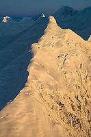 Mount Brooks, Alaska Range, Denali National Park, Interior, Alaska.