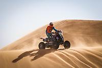 5th January 2021; Dakar Rally stage 3; 150 Cavigliasso Nicolas (arg), Yamaha, Dragon Rally Team, Motul, Quad, action during the 3rd stage of the Dakar 2021 between Wadi Al Dawasir and Wadi Al Dawasir, in Saudi Arabia on January 5, 2021