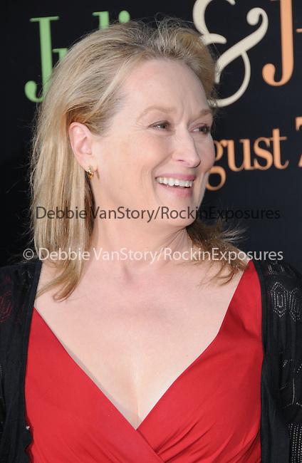 Meryl Streep  at The Columbia Pictures' Screening of  Julie & Julia held at The Mann's Village Theatre in Westwood, California on July 27,2009                                                                   Copyright 2009 Debbie VanStory / RockinExposures