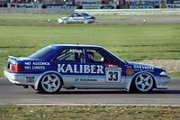 Round 13 of the 1991 British Touring Car Championship. #33 Gary Ayles (GBR). Kaliber ICS Team Toyota. Toyota Carina.