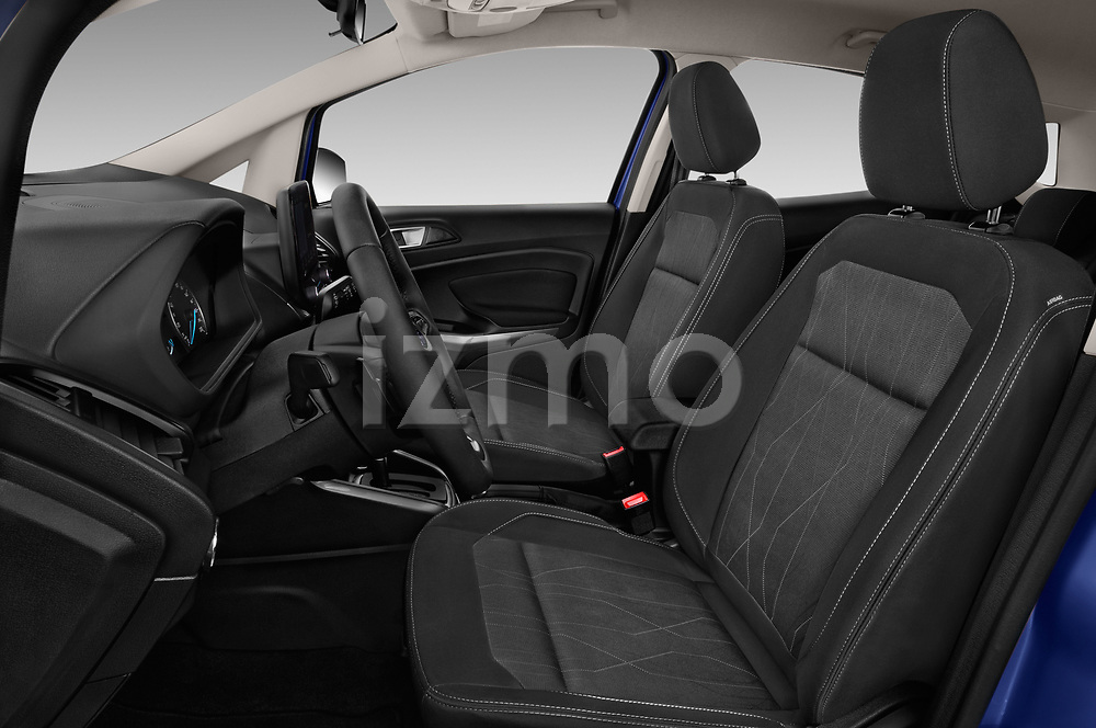 Front seat view of a 2018 Ford Ecosport Business Class 5 Door SUV front seat car photos