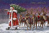 Marcello, CHRISTMAS SANTA, SNOWMAN, WEIHNACHTSMÄNNER, SCHNEEMÄNNER, PAPÁ NOEL, MUÑECOS DE NIEVE, paintings+++++,ITMCXM2122,#x#