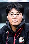 FC Seoul Head Coach Hwang Sun-hong during the 2017 Lunar New Year Cup match between Auckland City FC (NZL) vs FC Seoul (KOR) on January 28, 2017 in Hong Kong, Hong Kong. Photo by Marcio Rodrigo Machado/Power Sport Images