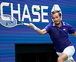 September  10, 2021:  Daniil Medvedev (RUS) defeated Felix Auger-Aliassime (CAN) 6-4, 7-5, 6-2, at the US Open being played at Billy Jean King National Tennis Center in Flushing, Queens, New York / USA  ©Jo Becktold/Tennisclix/CSM/CSM