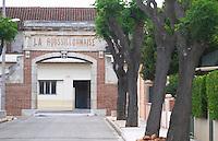 La Roussillonnaise cooperative. Rivesaltes town, Roussillon, France