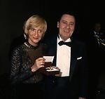 ALBERTO SORDI CON FRANCOISE SAGAN<br />  THE BEST PARIGI 1988