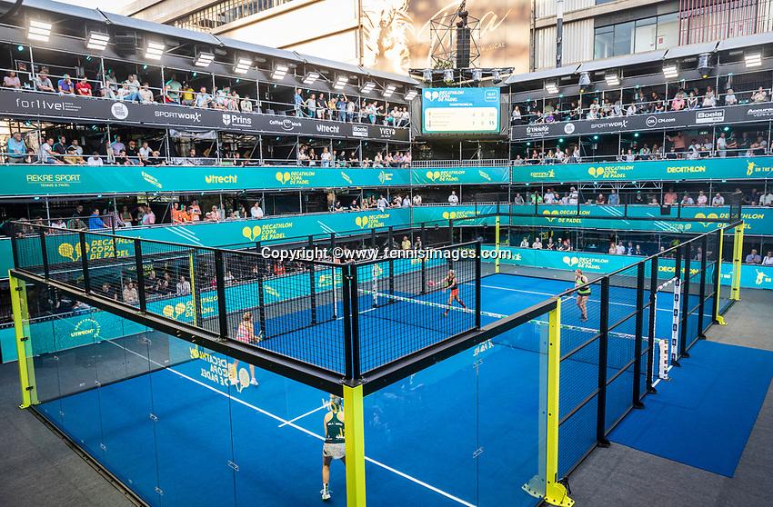 Utrecht, The Netherlands,  September 5, 2021,  Jaarbeurs, Decathlon Copa de Padel,Photo: Tennisimages/Henk Koster