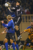 Pat Onstad (Earthquakes).  Earthquakes defeated Galaxy, 5-2 in overtime at Spartan Stadium on November 9th, 2003.