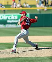 RJ Alaniz - Cincinnati Reds 2020 spring training (Bill Mitchell)