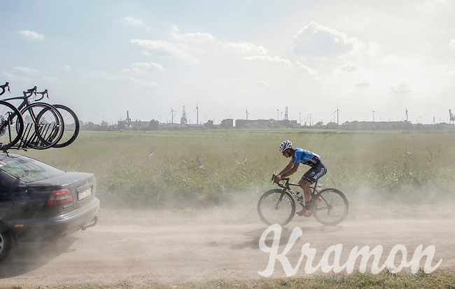 Jappe Jaspers (BEL/Veranda's Willems Crelan) riding the dust<br /> <br /> 92th Schaal Sels 2017