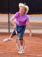 08-08-13, Netherlands, Rotterdam,  TV Victoria, Tennis, NJK 2013, National Junior Tennis Championships 2013, Liam Liles<br /> <br /> <br /> Photo: Henk Koster