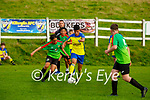 Javier Cayoni Killorglin and Jack Power Camp during their game in Killorglin on Friday