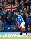 03.04.2019 Rangers v Hearts: Jermain Defoe