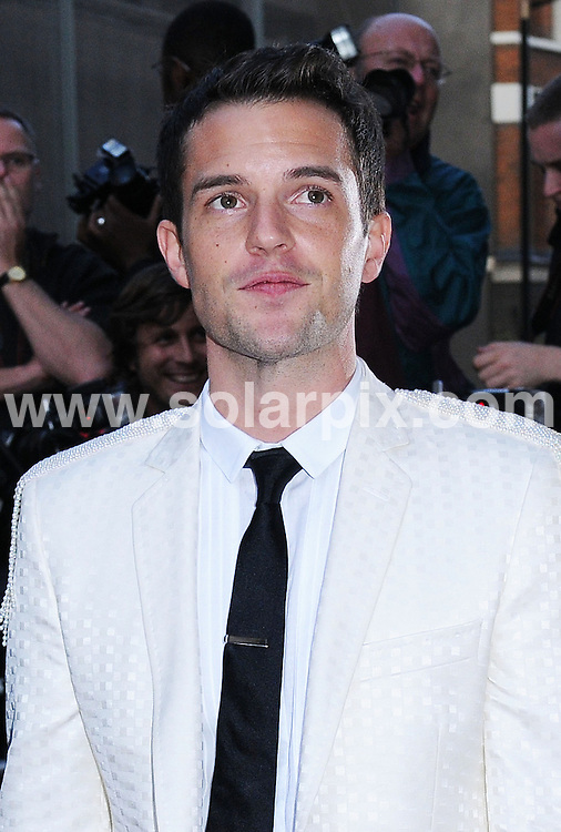 **ALL ROUND PICTURES FROM SOLARPIX.COM**.**WORLDWIDE SYNDICATION RIGHTS**.The GQ Men of the year Awards 2008 at the Royal opera house Covent garden in London in the UK..This pic:Brandon Flowers..JOB REF:7184-SSD     DATE:02_09_08.**MUST CREDIT SOLARPIX.COM OR DOUBLE FEE WILL BE CHARGED* *UNDER NO CIRCUMSTANCES IS THIS IMAGE TO BE REPRODUCED FOR ANY ONLINE EDITION WITHOUT PRIOR PERMISSION*