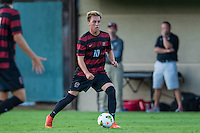 STANFORD, CA - August 19, 2014: Corey Baird during the Stanford vs CSU Bakersfield men's exhibition soccer match in Stanford, California.  Stanford won 1-0.