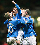 Celtic v St Johnstone.....04.03.15<br /> Danny Swanson celebrates his goal<br /> Picture by Graeme Hart.<br /> Copyright Perthshire Picture Agency<br /> Tel: 01738 623350  Mobile: 07990 594431