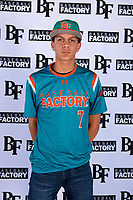 Miguel Angel Baez (7) of Florida Preparatory Academy in Republica Dominicana, Florida during the Baseball Factory All-America Pre-Season Tournament, powered by Under Armour, on January 12, 2018 at Sloan Park Complex in Mesa, Arizona.  (Mike Janes/Four Seam Images)