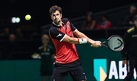 Rotterdam, The Netherlands, 11 Februari 2019, ABNAMRO World Tennis Tournament, Ahoy, first round match: Robin Haase (NED),<br /> Photo: www.tennisimages.com/Henk Koster