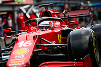 27th August 2021; Spa Francorchamps, Stavelot, Belgium: FIA F1 Grand Prix of Belgium, free practise:   LECLERC Charles mco, Scuderia Ferrari SF21