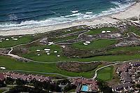 aerial photograph Spanish Bay Resort Golf Course, Monterey, California