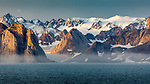 Eastern Greenland, fjords and glaciers