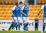St Johnstone v Sunderland…15.07.17… McDiarmid Park… Pre-Season Friendly<br />David Wotherspoon celebrates his first goal<br />Picture by Graeme Hart.<br />Copyright Perthshire Picture Agency<br />Tel: 01738 623350  Mobile: 07990 594431