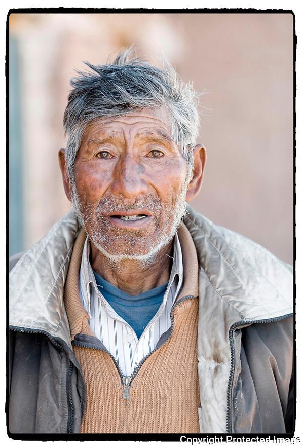 Bolivie- Sur la route de Huari.