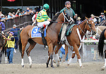 10 June 26: Devil May Care (no. 3), ridden by John Velasquez and trained by Todd Pletcher, wins the 54th running of the grade 1 Mother Goose Stakes for three year old fillies at Belmont Park in Elmont, New York.