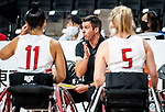 Coach Marc Antoine Ducharme, Tokyo 2020 - Wheelchair Basketball // Basketball en fauteuil roulant.<br /> Canada takes on the USA in the wheelchair basketball quarterfinal // Le Canada affronte les États-Unis en quart de finale de basketball en fauteuil roulant. 31/08/2021.