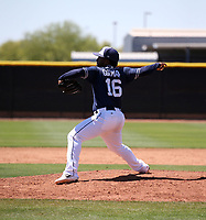 Jonathan Guzman - San Diego Padres 2019 extended spring training (Bill Mitchell)