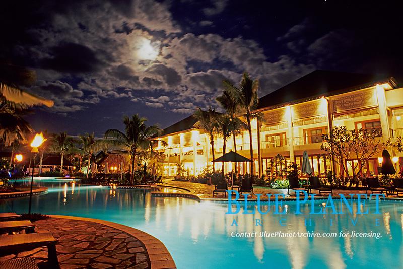 resort hotel, Sofitel Fiji, Denaurau Island, Fiji , South Pcific Ocean