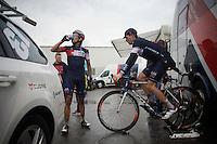 Sebastien Reichenbach (SUI/ IAM) warming down after the race<br /> <br /> 101th Liège-Bastogne-Liège 2015