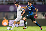 (L) Isco of Real Madrid CF being followed by (R) Marcelo Brozovic of FC Internazionale Milano during the FC Internazionale Milano vs Real Madrid  as part of the International Champions Cup 2015 at the Tianhe Sports Centre on 27 July 2015 in Guangzhou, China. Photo by Aitor Alcalde / Power Sport Images