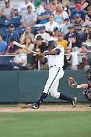 July 4, 2009: Everett AquaSox's Welington Dotel at-bat during a Northwest League game against the Yakima Bears at Everett Memorial Stadium in Everett, Washington.
